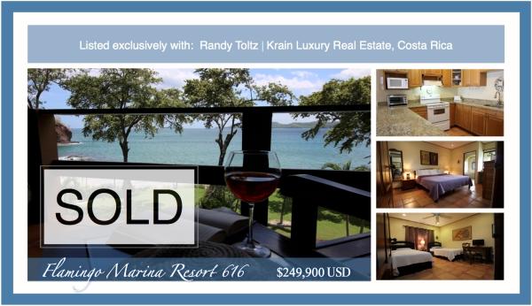 Flamingo Marina Resort 616 Sold Postcard